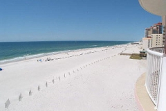 View of the Gulf from Royal Palms balcony
